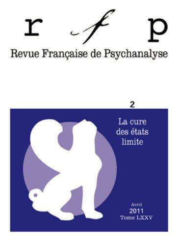 Revue française de psychanalyse 2011 -Tome 75 - N° 2