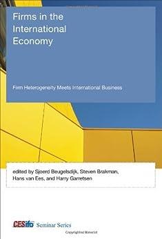 essays on heterogeneous firms in international economics Essays in international macroeconomics macroeconomics and international economics iv vertical fdi and heterogeneous firms.