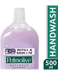 Palmolive Naturals Hand Wash Black Orchid and Milk - 500 ml (Refill Pack)