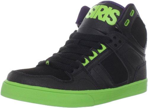 Osiris Kids Nyc83 Vlc, Jungen Skateboardschuhe Schwarz (Blk/Lme/Pur)