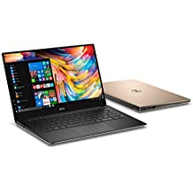 "Dell XPS 13 9360 13.3"" Laptop 7th Gen Intel Core I5-7200U, 8GB RAM, 128GB SSD Machined Aluminum Display Win 10 Rose Gold"