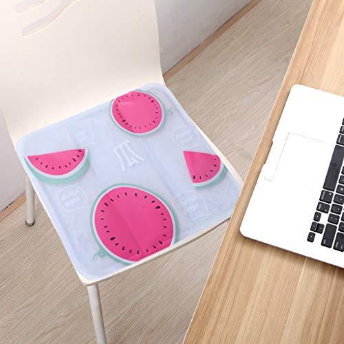ToDIDAF, doppelseitiges Sitz-Eiskissen - Sommer-Cartoon-Gel-Kühlkissen für Büro, Schule, Kühlkissen für Nickerchen, Eiskissen, hält 4-6 Stunden Multicolor B (Mit Wasser-kühler Beinen)