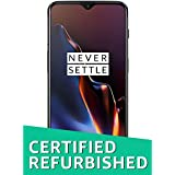 (CERTIFIED REFURBISHED) OnePlus 6T (Mirror Black, 8GB RAM, 128GB Storage)