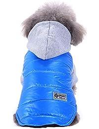 Ropa para Mascotas, Gusspower Ropa de Abrigo Invierno Suéter cálido cómodo Chaqueta Deportiva Traje para Mascotas Gato Perro