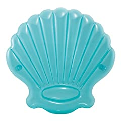 Idea Regalo - Intex 57255 - Isola Conchiglia, Blu, 191 x 191 x 25 cm