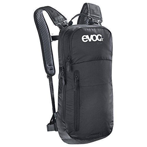 EVOC CC 6l Black backpack - Backpacks (Black, 100 D, Unisex, Front pocket, Cell phone pocket, Zipper)