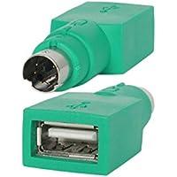 StarTech.com GC46FM - Adaptador conversor para ratón USB a PS/2 (Hembra a Macho) Color Verde