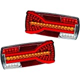 RIGHT GENUINE 12V 24V LED REAR COMBINATION TRAILER OR TRANSPORTER LAMP LIGHT TAIL INDICATOR STOP MP8605BR MAYPOLE