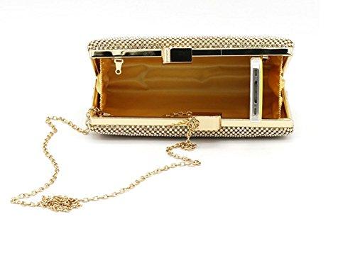 Shiratori, Damen Clutch Gold