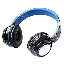 Toshiba RZE-BT200H Foldable Wireless Headphones (BLUE)