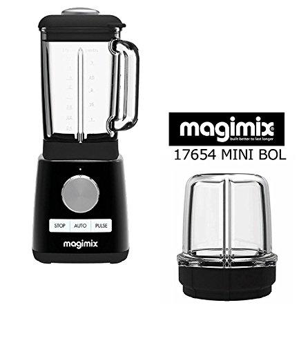Magimix Batidora Power Blender nuevo negro 1300 w 6000 a 22000 rpm + ACCESORIO OPCIONALE : MINI VASO...
