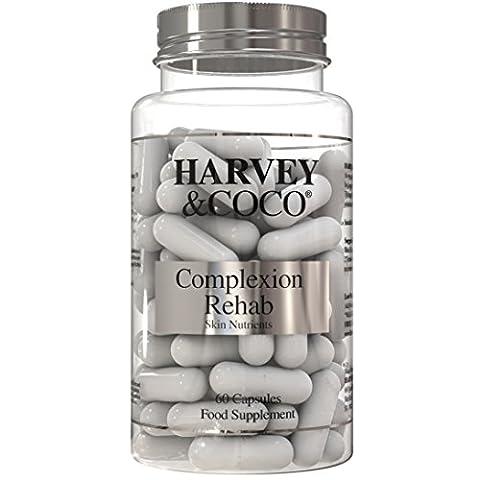 Natürliche Hautpflege mit Kollagen, Hyaluronsäure, Vitamin C & Vitamin E - Feuchtigkeitsspendende Behandlung für Männer & Frauen -