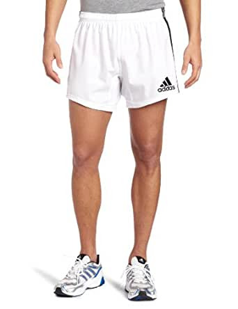 Adidas Team Wear 3 Stripe Rugby Shorts Wht/Blk - size S - size Small