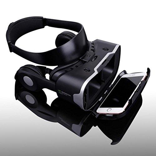 Shinecon Vr 4.0 Pro Virtual Reality Gear Goggles 3D Google Cardboard Gafas Vr Box Headset For 4.7-6.0 Inch Smartphone