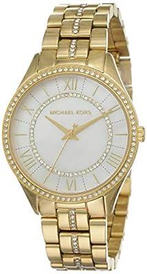 Michael Kors Reloj Analógico para Mujer de Cuarzo con Correa en Acero Inoxidable MK3899