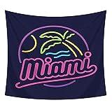 Zebuakuade Tapisserie Polyester Neon Wandbehang Stoff Innenwand Flagge Strandmatte Tisch Kreuz Stoff Poster Kinderzimmer für Schlafzimmer Wohnheim Dekor (Color : A88-17, Size : 200 * 150cm)