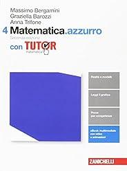 Matematica.azzurro. Con tutor. Per le Scuole superiori. Con aggiornamento online: 4