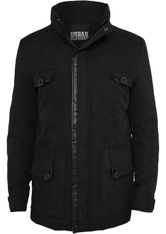 Urban Classics Down Parka TB575, couleur:black;taille:XL