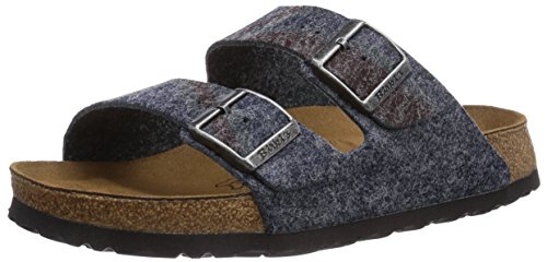 Birki Arizona, Mules Adulte Mixte Gris (gray Print Stars And Stripes)