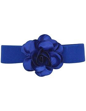 Cinturón de cintura elástico ancho de cintura de cintura de mujeres