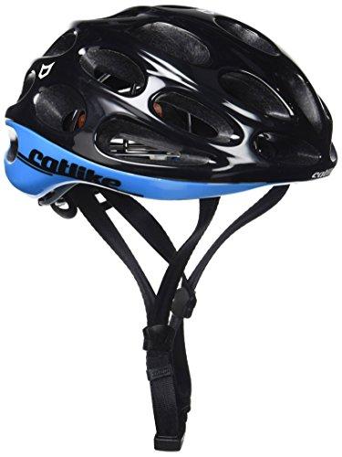 Catlike Olula Casco de Ciclismo, Unisex adulto, Negro/Azul, S/54-56 cm