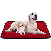 Hero Dog Cama Colchoneta Perro Grande Lavable, Cojines para Mascotas Antideslizante Vellón Almohadilla Suave 120x85