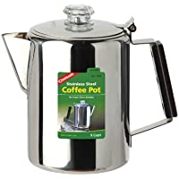 Coghlans stainless steel 'Coffee Pot' 9 cups