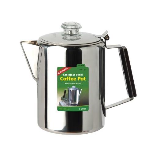 Coghlan's Unisex– Adult's Coffee Pot Stainless Steel jug