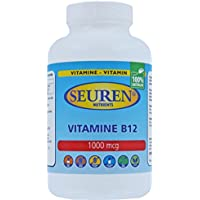 Vitamin B12 1000mcg 100 Tabletten Glutenfrei, Laktosefrei und Zuckerfrei (100% natürlich) preisvergleich bei billige-tabletten.eu