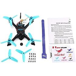 Para HGLRC XJB 145 145mm Micro Mini RC sin escobillas Carreras Quadcopter Drone Aviones con 5.8G FPV CCD VTX / F4 FC con OSD PNP
