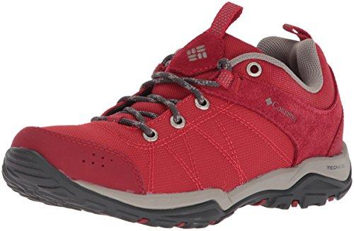Columbia Fire Venture Textile, Zapatillas de Senderismo para Mujer, Rojo Mountain Red/Kettle 613...