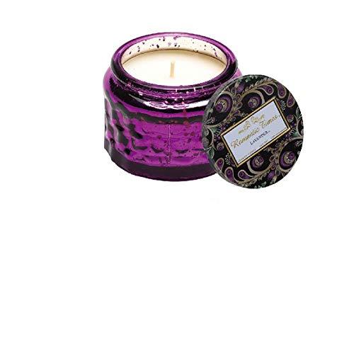 Aiyow Candlestick Plant Ätherisches Öl Aroma Romantic Smoke-Free Beruhigen Sie die Nerven Hilfe Glas Tasse Duft Rotating Candlestick @ Juniper Lavender -