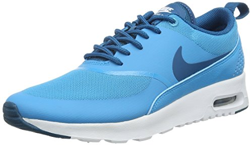 Nike Damen Wmns AIR MAX Thea Sneakers, Blau (411 Blue Lagoon/Green Abyss-White), 37.5 EU/ 6.5 US