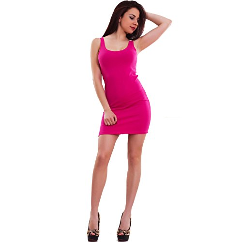 Toocool Damen Top Fuchsia