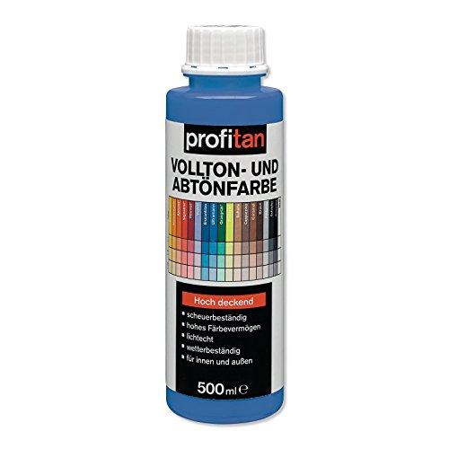 ROLLER profitan Vollton- und Abtönfarbe - ultramarinblau - 500 ml