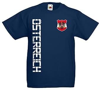 Österreich EM 2016 Kinder T-Shirt Trikot Name Nummer