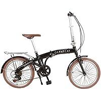 DaFatCat Bicicleta Plegable de Diseño Dean 1955, 6 velocidades Shimano,