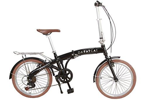 Da'FatCat Bicicleta Plegable diseño 'Dean 1955'