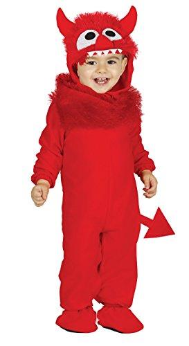 Baby Monsterkostüm Kostüm Monster für Kinder Kinderkostüm Monsterkostüm Gr. 86-98, - Monster Baby Kostüm