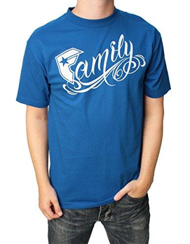 Famous Stars and Straps - - Herren New Family T-Shirt Königsblau