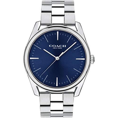 Coach | orologio da uomo di lusso moderno | quadrante blu in acciaio...