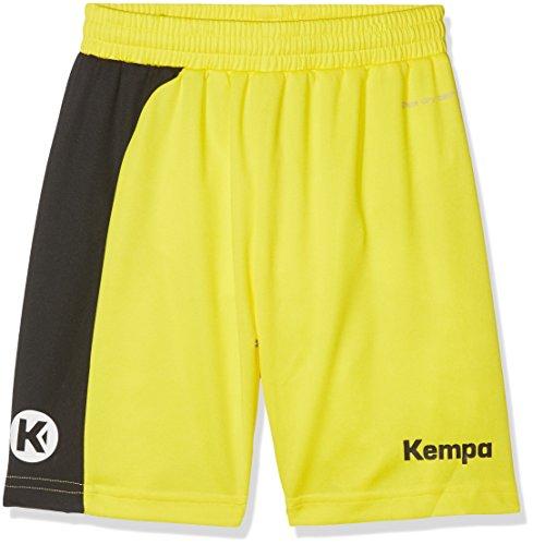 Kempa - Peak Shorts Junior, color amarillo,gris, talla XS/S Kempa