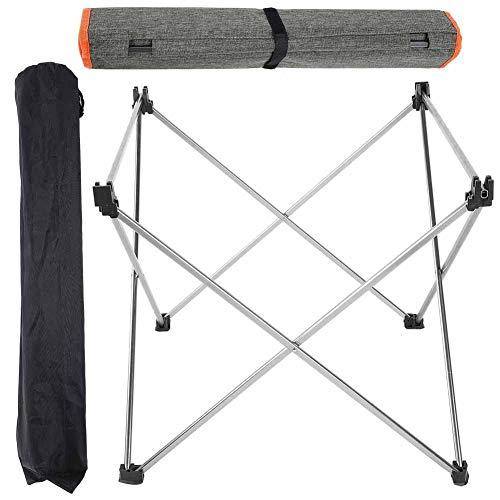 Bicaquu Outdoor Indoor Tragbare Leichte Aluminiumlegierung Klapp Campingtisch Picknick Grill Schreibtisch für Picknick Camping
