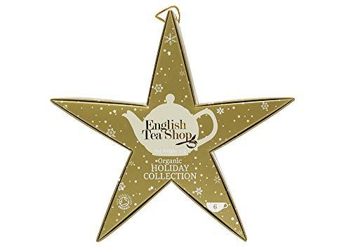English Tea Shop Organic Golden Star Pack 6 Pyramid Tea Bags (Pack of 2, Total 12 Tea Bags)