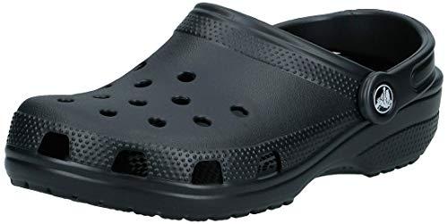 Crocs Unisex-Erwachsene Classic Clogs, Schwarz (Black), 38/39 EU