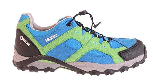 Meindl, Scarpe stringate basse bambini Multicolore grün/cobalt Multicolore (grün/cobalt)