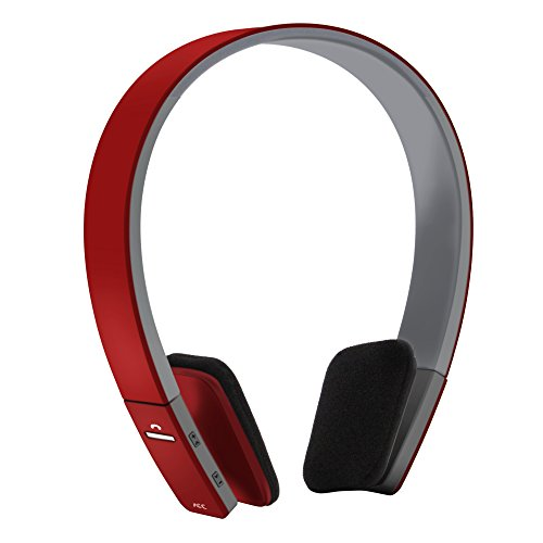 Svpro Bluetooth Kopfhörer Over Ear with Mic Hi-Fi Stereo Wireless/Wired Headset Rechargeable Sports Headset,10h Playtime,12h Talk Time, Retractable Headband,Soft Protein Earpads for PC/Cell Phones/TV