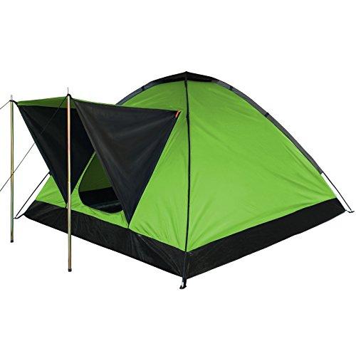 Kuppelzelt-Camping-Festival-Zelt-OCEAN-fr-2-3-Personen-Wassersule-3000-von-BB-Sport-Farbegrn
