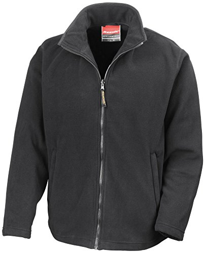 Result Microfleece Jacket Horizon Schwarz