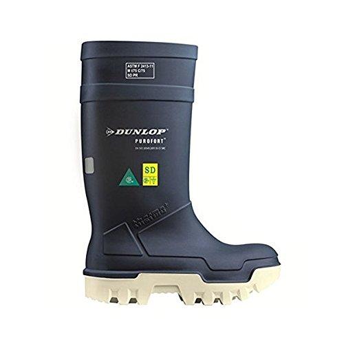 Dunlop PUROFORT Thermo+ Wellington Boot - Blue